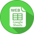 Link icon for Web version of Veg Guide (Google Sheet)
